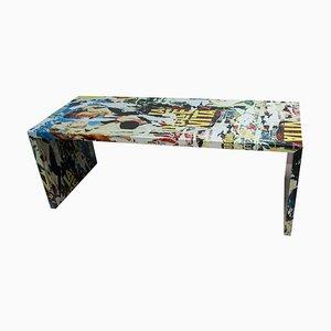 La Dolce Vita Dining Table by Mimmo Rotella & Marco Ferreri for Zerodisegno, 2004