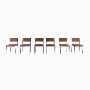 Chaises d'Appoint par Cees Braakman pour Pastoe, 1960s, Set de 6