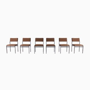 Side Chairs by Cees Braakman for Pastoe, 1960s, Set of 6