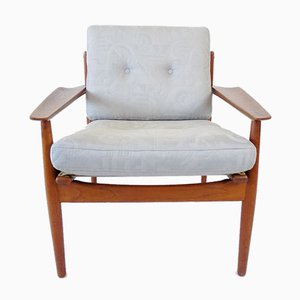 Teak Lounge Chair by Arne Vodder for Glostrup, 1960s