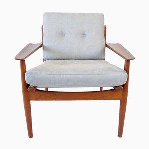 Teak Sessel von Arne Vodder für Glostrup, 1960er