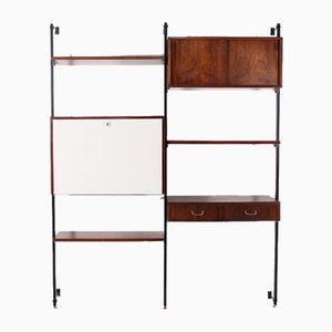 Modernist Rosewood Wall Unit, 1960s