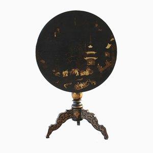 Napoleon III Chinoiserie Style Tilt-Top Table