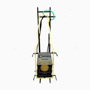 Letrero Corona Beer de neón de Omega Neon Products, años 90