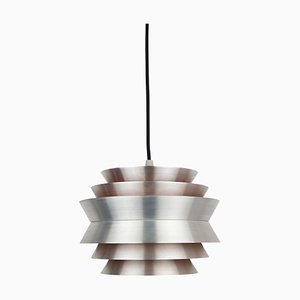 Swedish Trava Pendant Lamp by Carl Thore / Sigurd Lindkvist for Granhaga Metallindustri, 1960s
