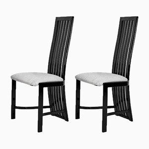 Schwarze Vintage Modell L4K 252 Beistellstühle von Liberty Furniture Industries Ltd für Liberty Furniture Industries Ltd, 2er Set