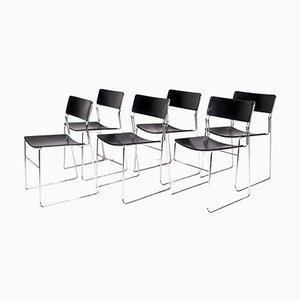 Esszimmerstühle von Arrben, 1970er, 6er Set
