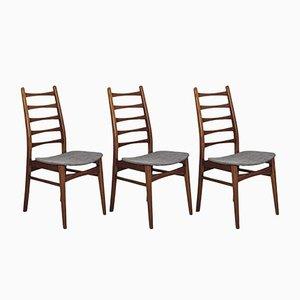 Mid-Century Beistellstühle im Stil von Mignon, 1960er, 3er Set