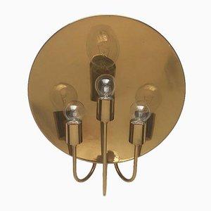 Deutsche Vintage W185 Wandlampe aus Messing von Florian Schulz, 1970er