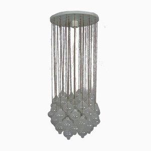 Große Tulipan Deckenlampe von JT Kalmar für Kalmar Franken KG, 1960er