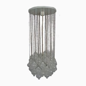 Large Austrian Tulipan Ceiling Lamp by J. T. Kalmar for Kalmar Franken KG, 1960s