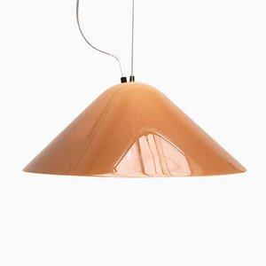 Lámpara colgante Elpis italiana vintage de Guzzini