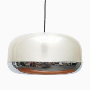 Vintage German Space Age Acrylic Ufo Pendant Lamp