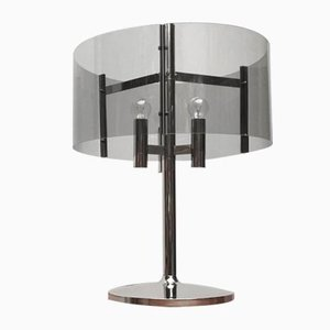 Mid-Century Space Age Acrylic Table Lamp