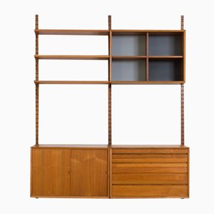 Danish Teak Royal Wall Unit by Poul Cadovius for FM Møbler, 1960s