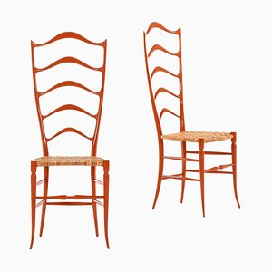 Italian Side Chairs, Set of 2