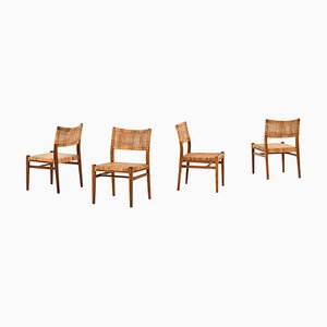 Dining Chairs by Erik Wørts for Henrik Wørts Møbelsnedkeri, Set of 4