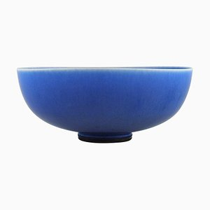 Bowl on Base in Glazed Ceramics by Berndt Friberg for Gustavsberg