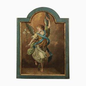 Angelo che annuncia, Scuola di pittura, Olio su tavola, Italia, XVIII secolo