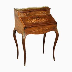 Kleiner Schreibtisch mit Klappe