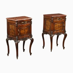 Barocchetto Style Nightstands, Set of 2