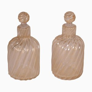 Bottles from Barovier & Toso, Set of 2