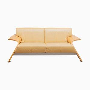 Sofá de dos plazas italiano posmoderno, años 80