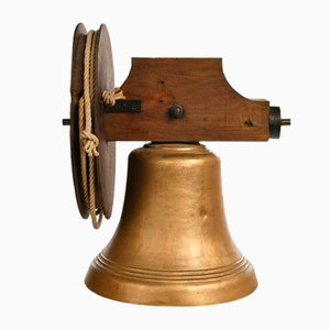 Bronze Bell with Pulley System