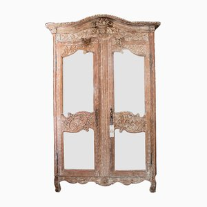 Marriage Armoire with Mirror & Doors
