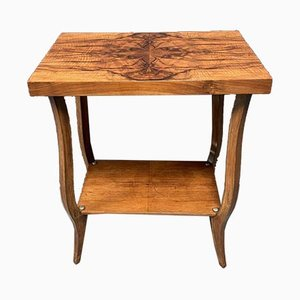 Art Deco Veneered Side Table