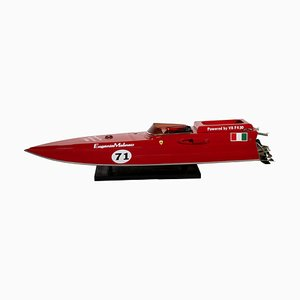 Ferrari Red Arrow Speed ​​Motorboat