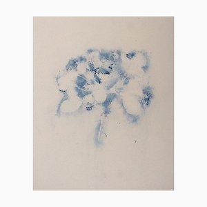 Flores Andrea-Fogli - Manzana en flor - Pastel sobre papel - 2019