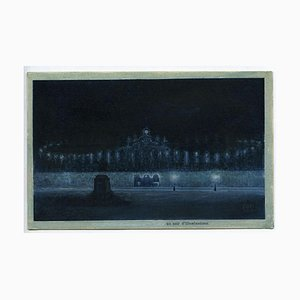 Andrea Fogli - Evening of Illuminations - Tempera On Paper - 2008