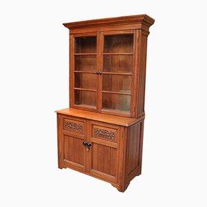 Solid Teak Cabinet Bookcase