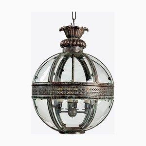 Lanterna Verdigris in bronzo