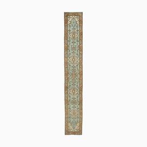 Blue Oushak Runner Carpet