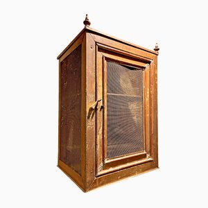 Antique Victorian Food Safe Cabinet