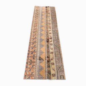 Alfombra de pasillo Oushak Narrow Turner vintage