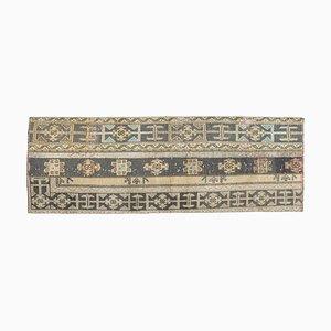 Türkischer Vintage Patchwork Oushak Läufer