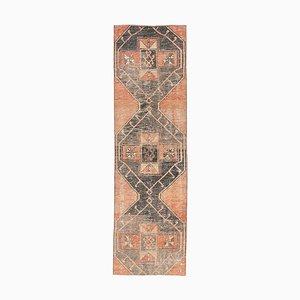 Tappeto Oushak fatto a mano di lana antico