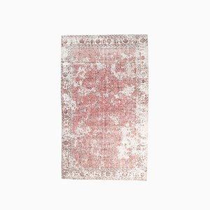 Vintage Turkish Oushak Handmade Wool Area Carpet