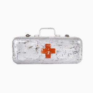 Aluminium Red Cross Survival Rations Box, 1960s