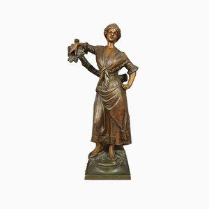 A.J Scotte, Antimony Sculpture