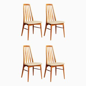 Mid-Century Side Chairs by Niels Koefoed for Koefoeds Møbelfabrik, Set of 4