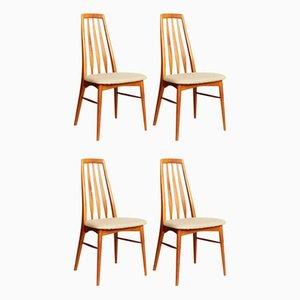 Mid-Century Stühle von Niels Koefoed für Koefoeds Møbelfabrik, 4er Set