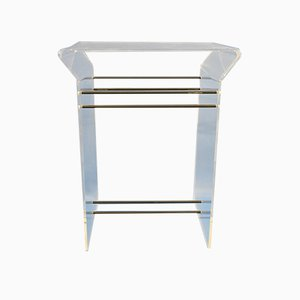 Vintage Console Table, 1970s or 1980s