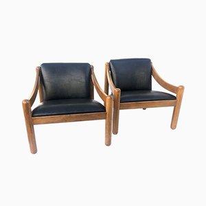 Carimate Stühle von Vico Magistretti für Cassina, 1962, 2er Set