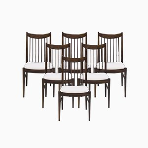 Rosewood 422 Dining Chairs by Arne Vodder for Sibast, 1960s, Set of 6