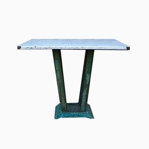 Tavolo da giardino industriale, anni '50