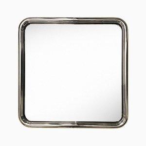 Specchio Bauhaus cromato, anni '70